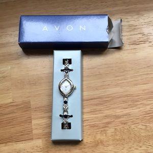 Jeweled Avon Bracelet Watch